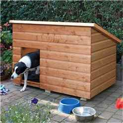 Deluxe Large Dog Kennel 4'6 x 2'11 (1.38m x 0.9m)