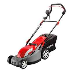 Electric Rear Roller Lawnmower 34cm - Cobra GTRM34 - Free Next Day Delivery*