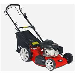 Petrol 4 in 1 Rotary Honda Powered Self Propelled Lawnmower - 51cm - Cobra M51SPH - Free Oil and Free Next Day Delivery*