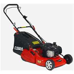 Briggs and Stratton Powered Self Propelled Rear Roller Rotary Lawnmower - 46cm - Cobra RM46SPB - Free Oil and Free Next Day Delivery*