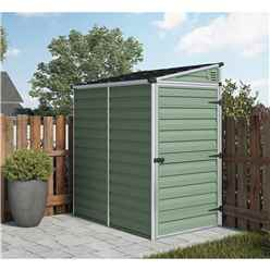 6 x 4 Plastic Pent Garden Shed (1.8m x 1.2m) *FREE 24/48 HOUR DELIVERY*