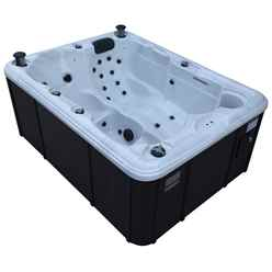 Quebec Plug and Play - 3 Person Hot Tub - 1.98m x 1.50m - Free Delivery and Install + Chemical Kit worth £120