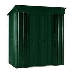 5 x 3 Premier EasyFix Heritage Green Pent Shed (1.58m x 0.92m)