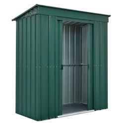 **PRE-ORDER: DUE BACK IN STOCK 31ST JULY** 6 x 3 Premier EasyFix Heritage Green Pent Shed (1.83m x 0.92m)