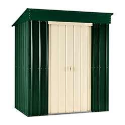 8 x 3 Premier EasyFix Heritage Green Pent Shed (2.46m x 0.92m)