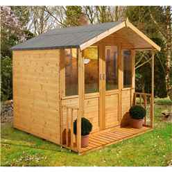7 x 7 Maplehurst Summerhouse - Assembled