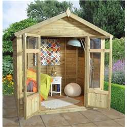 7 x 5 Tetbury Summerhouse - Assembled