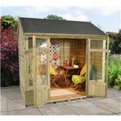 8 x 6 Kempsford Summerhouse - Assembled