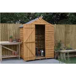 5 x 3 Overlap Apex Garden Shed