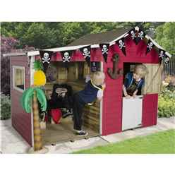 8 x 4 Basil Multiplay Playhouse