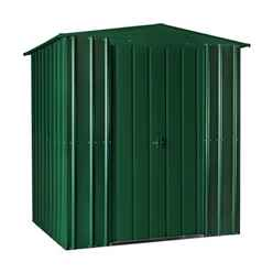 **PRE-ORDER: DUE BACK IN STOCK 24TH JULY** 6 x 4 Heritage Green Metal Shed