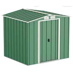 **PRE-ORDER: DUE BACK IN STOCK 31ST JULY** 6 x 6 Heritage Green Metal Shed