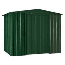 **PRE-ORDER: DUE BACK IN STOCK 3RD JULY**  8 x 5 Heritage Green Metal Shed