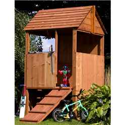 INSTALLED Playhouse 4ft x 4ft - INCLUDES INSTALLATION