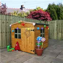 INSTALLED Apex Playhouse 4ft x 4ft - INCLUDES INSTALLATION