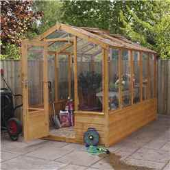 INSTALLED 6 x 10 Premier Styrene Glazed Tongue and Groove Greenhouse (No Floor) INCLUDES INSTALLATION