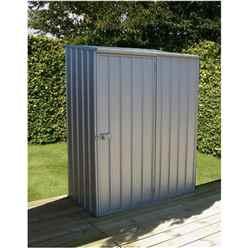 5 x 3 Premier Zinc Metal Garden Shed (1.52m x 0.78m) *FREE 24HR/48HR DELIVERY*