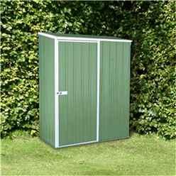 5 x 3 Premier Pale Eucalyptus Metal Garden Shed (1.52m x 0.78m)  *FREE 24HR/48HR DELIVERY*