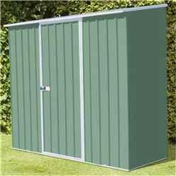8 x 3 Premier Pale Eucalyptus Metal Garden Shed (2.26m x 0.78m) *FREE 24HR/48HR DELIVERY*