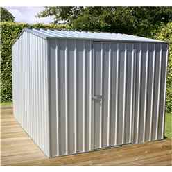 8 x 10 Premier Zinc Metal Garden Shed (2.26m x 3m) *FREE 24HR/48HR DELIVERY*