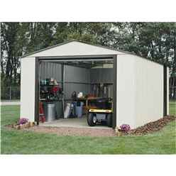 12 x 24 Deluxe Murryhill Metal Garage (3.71m x 7.35m)