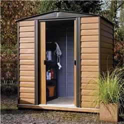 6 x 5 Deluxe Woodvale Metal Shed (1.94m x 1.51m)