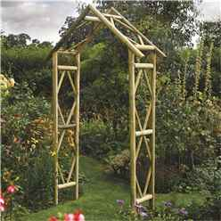 Deluxe Rustic Arch