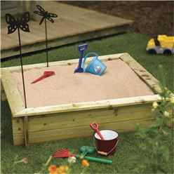 4 x 4 Deluxe Sandpit (1200mm x 1200mm)