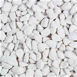 Bulk Bag 850kg Spanish White Pebbles Gravel