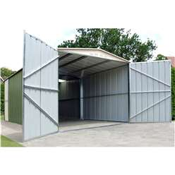 10 x 17 Deluxe Metal Garage (3.07m x 5.26m)