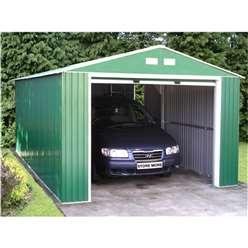12 x 20 Budget Metal Garage (3.72m x 6.04m)