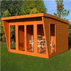 10 x 10 Wooden Summerhouse (12mm Tongue and Groove Floor)