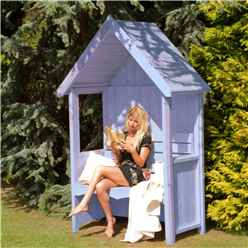 4 x 2 Wooden Seat Arbour