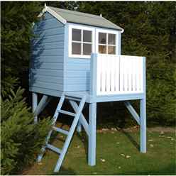 4 x 6 Wooden Tower Playhouse