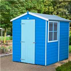 7 X 5 Tongue And Groove Apex Wooden Garden Shed Workshop 12mm Tongue And